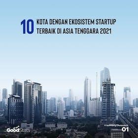 Gambar sampul 10 Kota dengan Ekosistem Startup Terbaik di Asia Tenggara 2021
