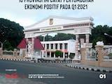 Gambar sampul 10 Provinsi dengan Pertumbuhan Ekonomi Positif pada Q1 2021
