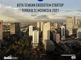 Gambar sampul 5 Kota dengan Ekosistem Startup Terbaik di Indonesia 2021