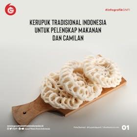 Gambar sampul 8 Jenis Kerupuk Tradisional Indonesia untuk Pelengkap Makanan dan Camilan