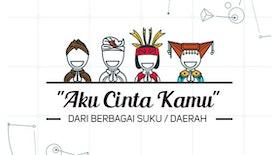 Aku Cinta Kamu dari Berbagai Suku/Daerah di Indonesia