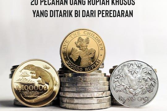 Gambar sampul Bank Indonesia Menarik 20 Uang Jenis Pecahan Rupiah Tahun Edar 1970-1980