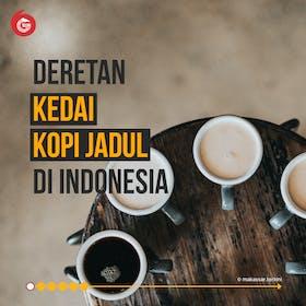 Gambar sampul Deretan Kedai Kopi 'Jadul' di Indonesia