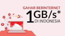Internet Gahar, 1 GB Per Detik