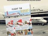 Gambar sampul Kisah Tintin saat Menyambangi Bandara Kemayoran