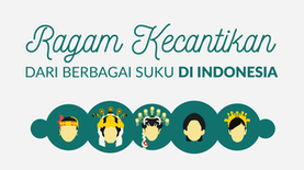 Ragam Kecantikan dari Berbagai Suku di Indonesia
