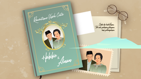 Romantisme Kisah Cinta Habibie dan Ainun