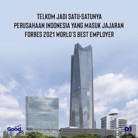 Gambar sampul Telkom Indonesia Masuk Jajaran Forbes 2021 World's Best Employer