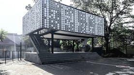 Wow, Microlibrary di Bandung Karya  SHAU Architect jadi Juara Dunia!