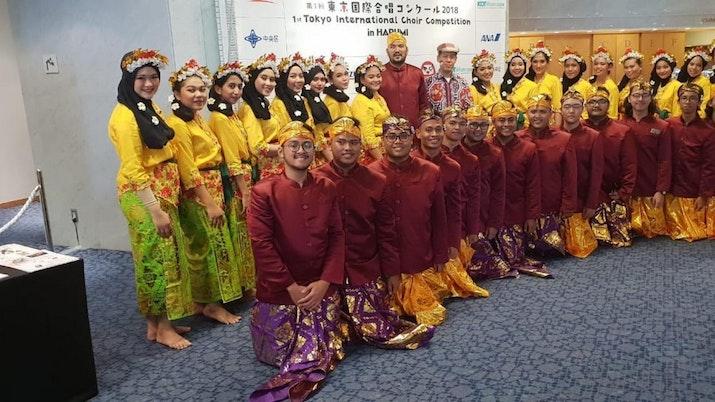 PSM Mercu Buana Sukses Juarai Kompetisi Paduan Suara Internasional di Jepang