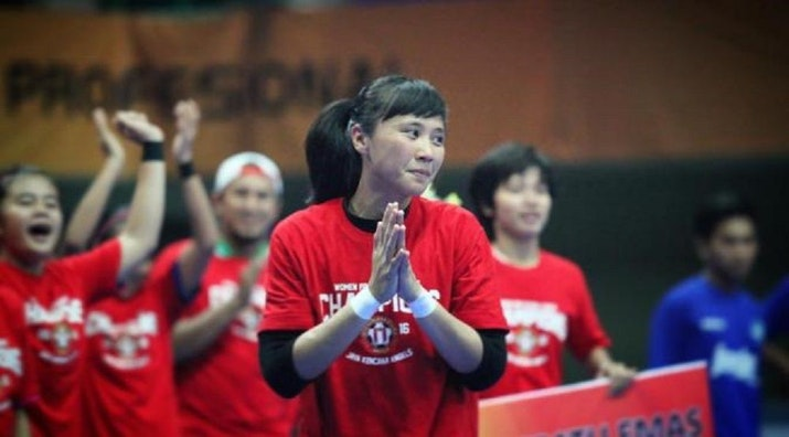 Citra Adisti, Kiper Cantik Asal Tangerang yang Bertabur Prestasi