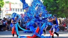 Banyuwangi Ethno Carnival 2018 Tampilkan Pertunjukan Kelas Dunia