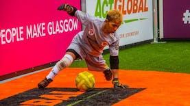 Eman Sulaeman jadi Kiper Terbaik Dalam Ajang Homeless World Cup 2016