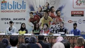 8 Anak Bangsa Berhasil Lolos ke Babak Kedua Indonesia Open 2018!