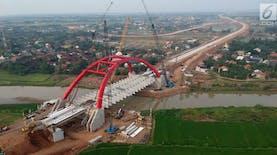 Peresmian Jembatan Kali Kuto Untuk Lancarkan Mudik Lebaran