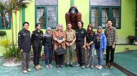Mapala Silvagama Kehutanan UGM Telisik Karakteristik Biofisik Gambut di Taman Nasional Tanjung Puting