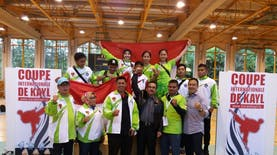 Karateka Muda Indonesia Raih Medali Emas di Coupe Internationale De Kayl