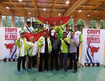 Karateka Muda Indonesia Raih Medali Emas di Coupe Internationale De Kayl