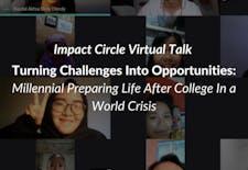 Impact Circle Virtual Talk: Maksimalkan Diri Selama di Rumah Aja