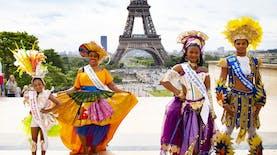 Indonesia, Satu-satunya Negara Asia yang Ikut Karnaval di Paris