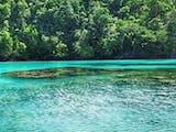 Pesona Pulau Rumberpon serpihan Syurga di Papua Barat.