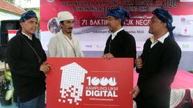 Tidak Cukup 300, Akan Ada 1000 Kampung UKM Digital di Tahun 2017