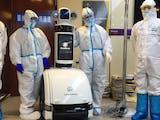 ITS dan RS Unair Kembangkan Robot Pelayan untuk Pasien Corona