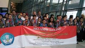 Siswa SD Asal  Indonesia Ini Raih 23 Medali Sekaligus dalam Olimpiade Matematika dan Sains Internasional