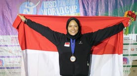 """Aries Susanti Rahayu, """"Spiderwoman"""" Muda Kebanggaan Indonesia"""