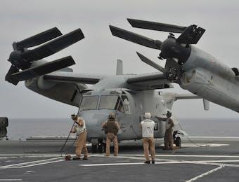 Apakah TNI Perlu Membeli Pesawat Canggih V-22 Osprey ini?