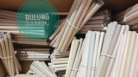 Sedotan Bambu Ramah Lingkungan Asal Indonesia 'Terbang' ke Berbagai Penjuru Dunia