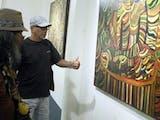 """Gambar sampul 9 Tahun Singgahi Kota-Kota di Indonesia, Elano Gantiano Gelar """"Drawing-Drawing in The Earth"""""""