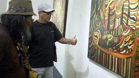 """9 Tahun Singgahi Kota-Kota di Indonesia, Elano Gantiano Gelar """"Drawing-Drawing in The Earth"""""""