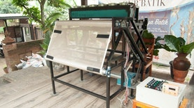 Mesin Fotonik Batik Gantikan Peran Matahari dalam Proses Pembuatan Batik