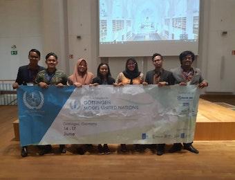 Mahasiswa ITS Meraih Penghargaan di Negeri Panzer dalam Model UN