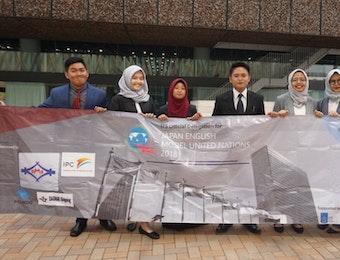 Mahasiswa Indonesia Berhasil Meraih Penghargaan di Japan English MUN