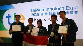 Tim Mahasiswa dari ITB Raih Juara Kompetisi Inovasi di Taiwan