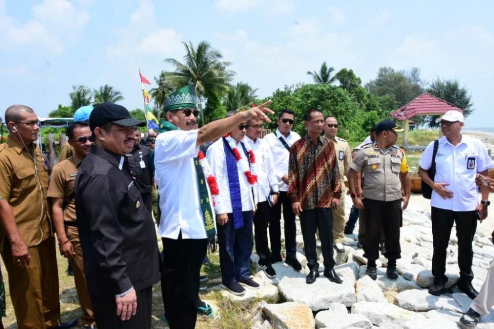 Dikunjungi Menteri Pariwisata Pulau Rupat Bakal Jadi