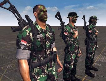 Kenali Tentara Nasional Indonesia dengan Membedakan Warna Seragam Mereka