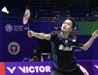 Satu dari 3 Tunggal Putra Bertahan di China Open 2019, Anthony Gemilang