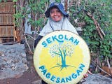 Gambar sampul Diah Widuretno: Penggagas Sekolah Kontekstual Demi Pertahankan Eksistensi Desa