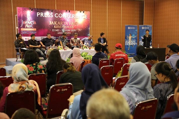 DANA Hadirkan Tiga Opsi Pembayaran di Jakarta Fair 2019