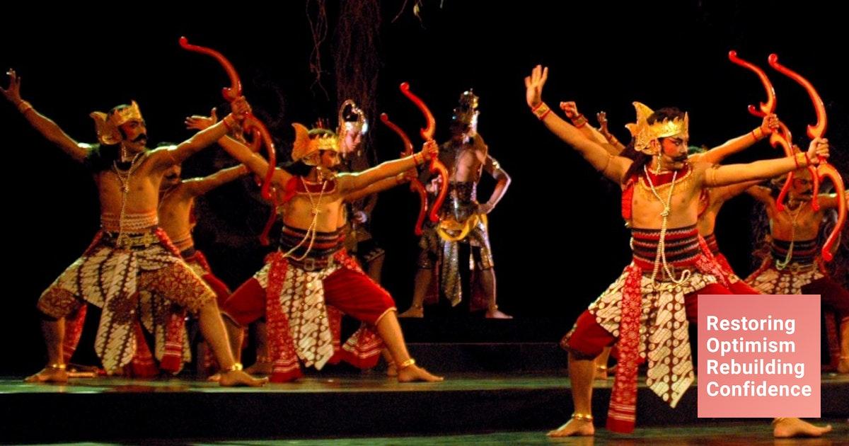 Seni Indonesia Segar, Energetik, Dan Hidup Pameran Seni Di Canberra