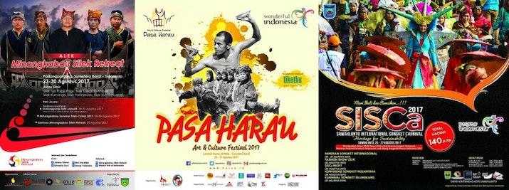 3 Kegiatan Warisan Budaya Minangkabau  Digelar Pada Akhir Agustus 2017 Di Sumatera Barat