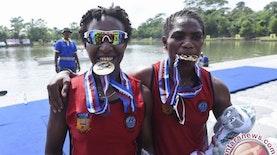 PON XIX Jawa Barat : 3 Dara Papua Peraih Medali Cabor Dayung