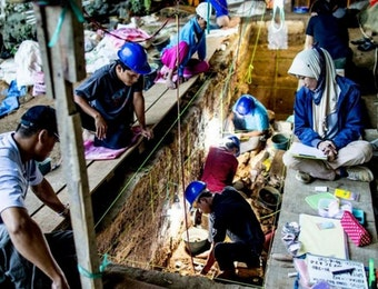 Sebuah Bukti Kekayaan Budaya Manusia Purba di Asia Tenggara Ada di Indonesia