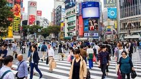 """Wonderful Indonesia"" Hiasi Persimpangan Hits di Shibuya, Jepang"
