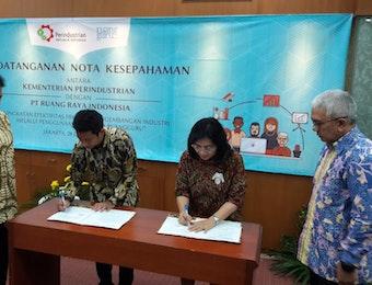 Kerjasama Kementerian Perindustrian dan Ruang Guru : Belva Optimis Berhasil