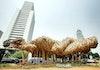 Pilinan Bambu di Jantung Jakarta