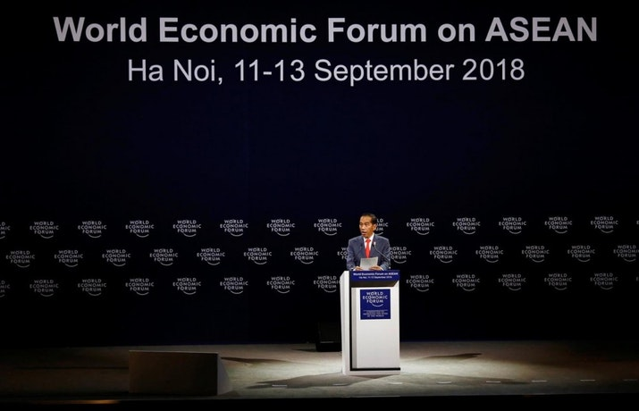 Peringkat Laporan Daya Saing Global 4.0 Asia Tenggara Oleh World Economic Forum